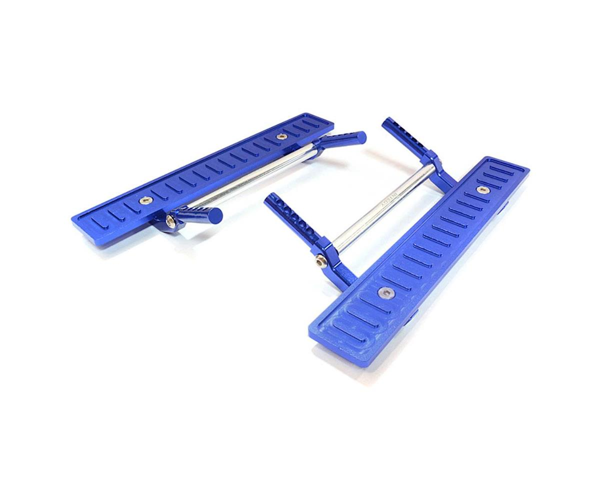 Team Integy C26726BLUE T2 Side Step Kit SCX-10/Din