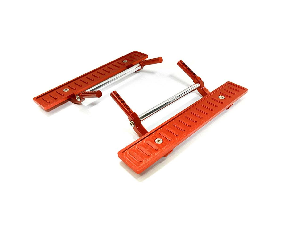 Team Integy C26726RED T2 Side Step Kit SCX-10/Dingo/Honcho/Jeep (2)