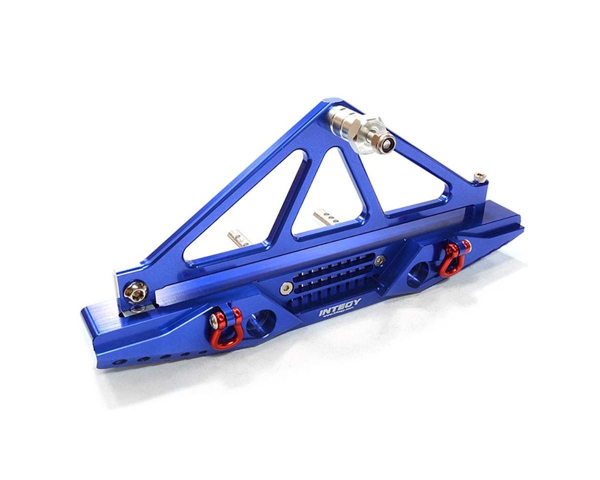 Team Integy C26727BLUE Rear Bumper SCX-10 Crawler w/43mm Mount