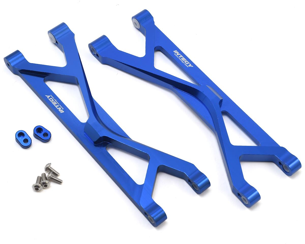 Team Integy Aluminum Traxxas X-Maxx Upper Suspension Arm (Blue) (2)