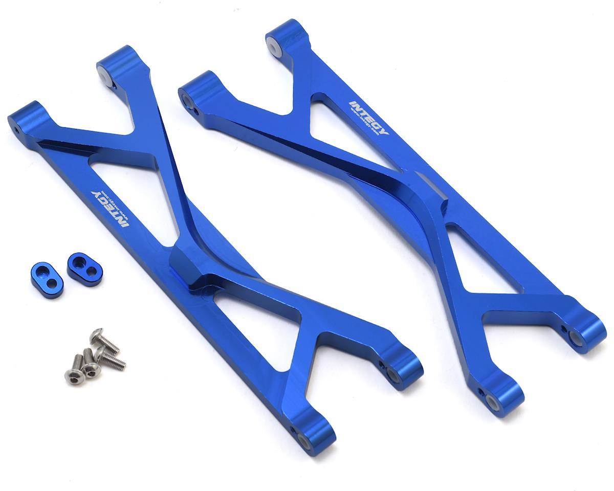 Aluminum Traxxas X-Maxx Upper Suspension Arm (Blue) (2) by Team Integy