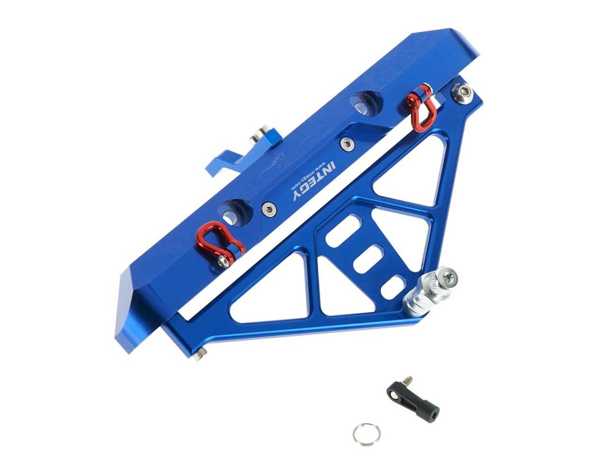 C26843BLUE Rear Bumper w/43mm Mount SCX-10 Crawler by Team Integy