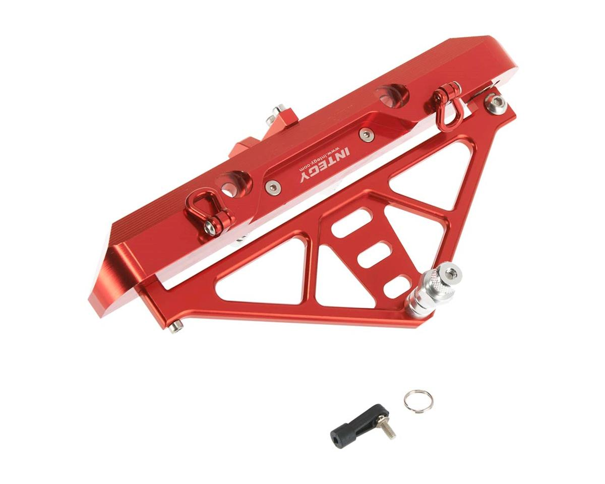 Team Integy C26843RED Rear Bumper w/43mm Mount SCX-10 Crawler