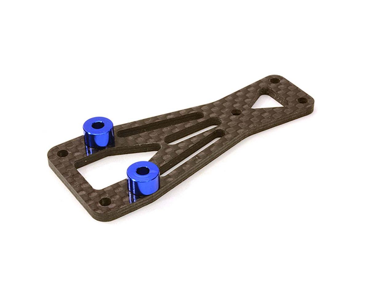 Team Integy C26871BLUE Front Top Chassis Plate Vaterra Twin Hammers
