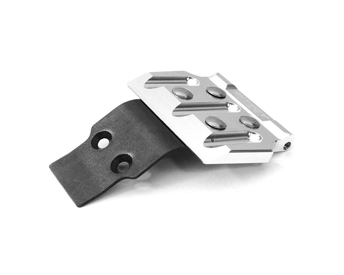 Team Integy C26872SILVER Front Skid Plate Vaterra Twin Hammers 1.9