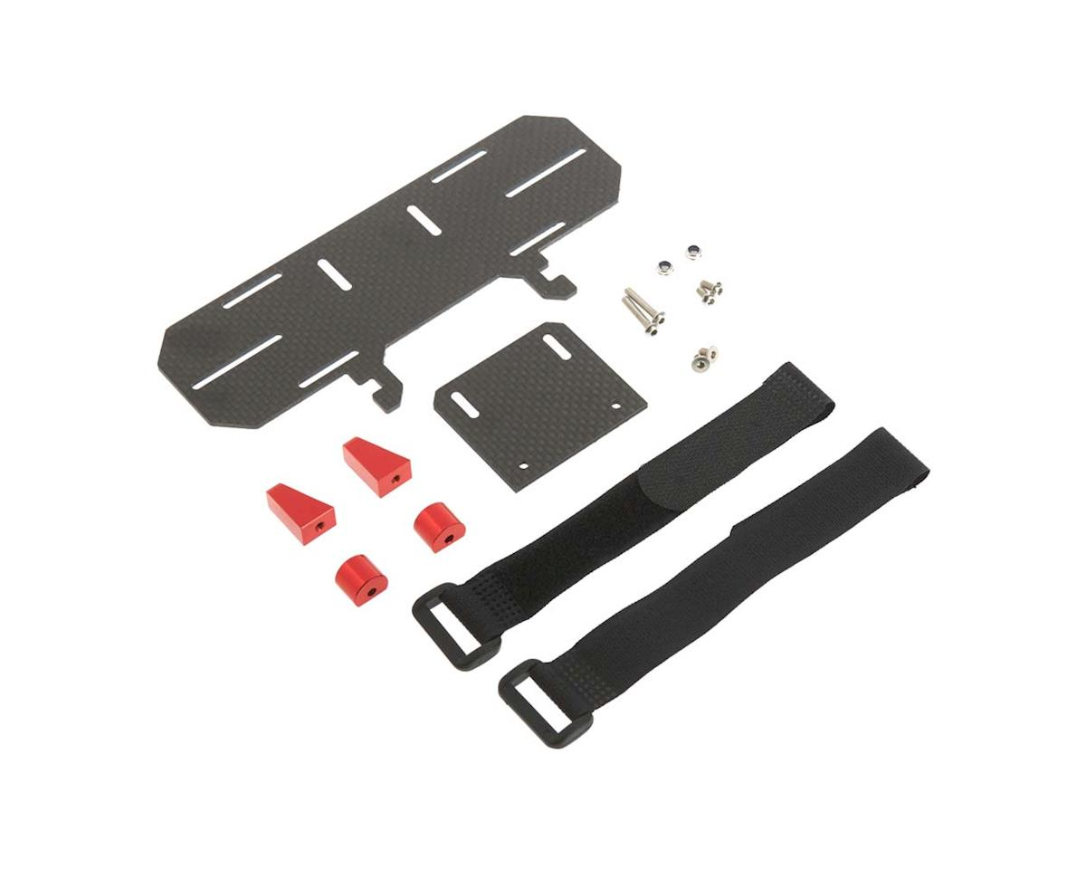 Team Integy C26926RED Composite Battery Tray 1/10 SCX-10 Off-Road