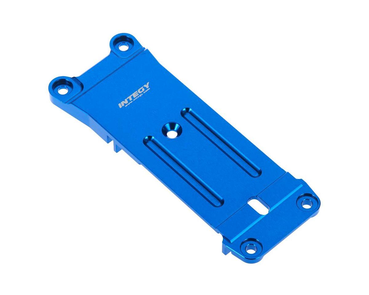 Team Integy C26950BLUE Rear Chassis Brace Tie Bar Mount X-Maxx 4x4