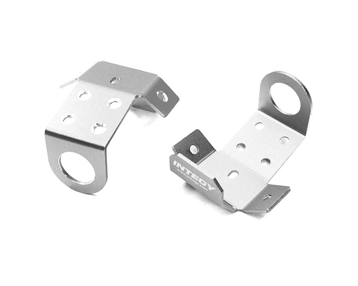 Team Integy C27008SILVER Aluminum Alloy Front/Rear Skid Plate Wrait