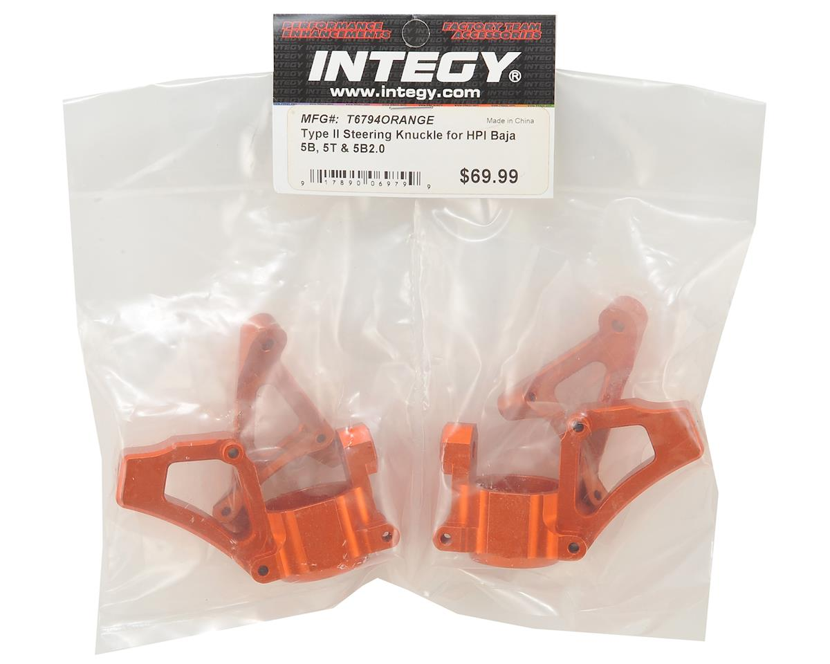 Baja5B/T T2 Steering Knuckle (Orange) by Team Integy
