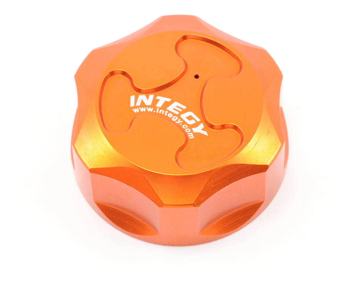 Team Integy Aluminum Gas Tank Cap (Orange)