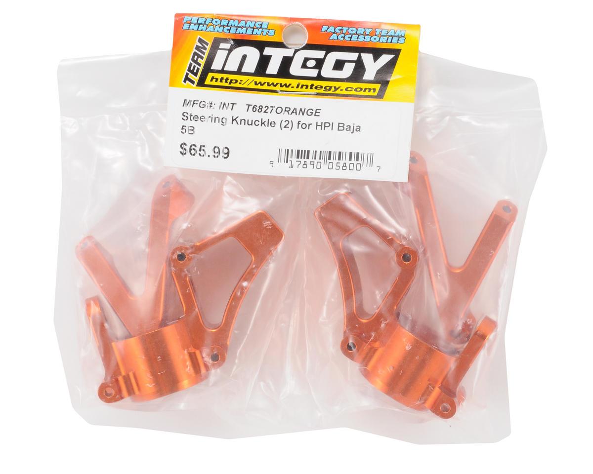 Team Integy Steering Knuckle (2) (Orange)