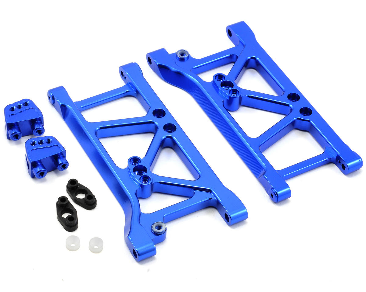 Team Integy Heavy Duty Rear Suspension Arm Set (Blue)