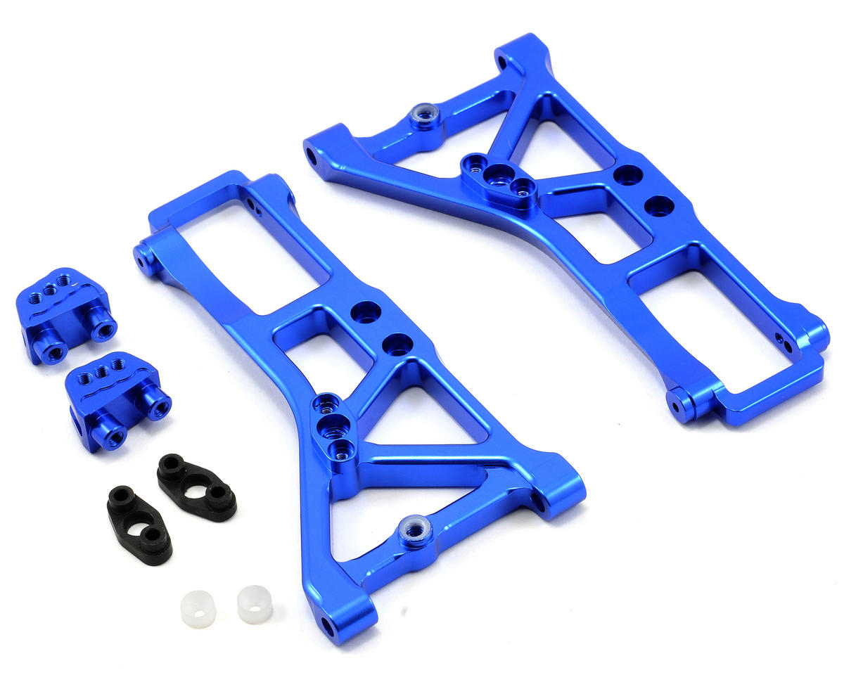 Team Integy Heavy Duty Front Suspension Arm Set (Blue)