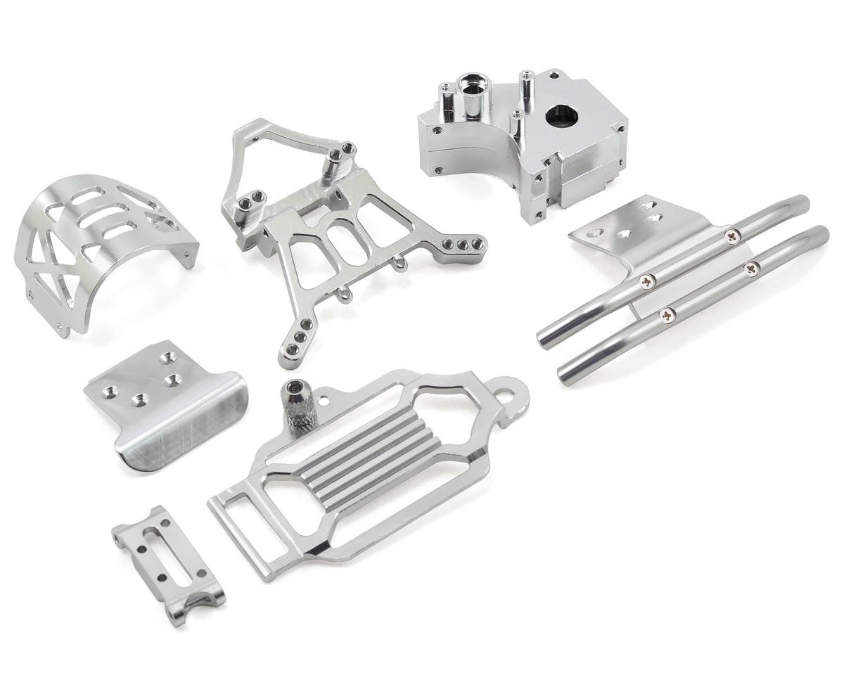 Team Integy Aluminum Evolution-X Conversion Kit (Silver)