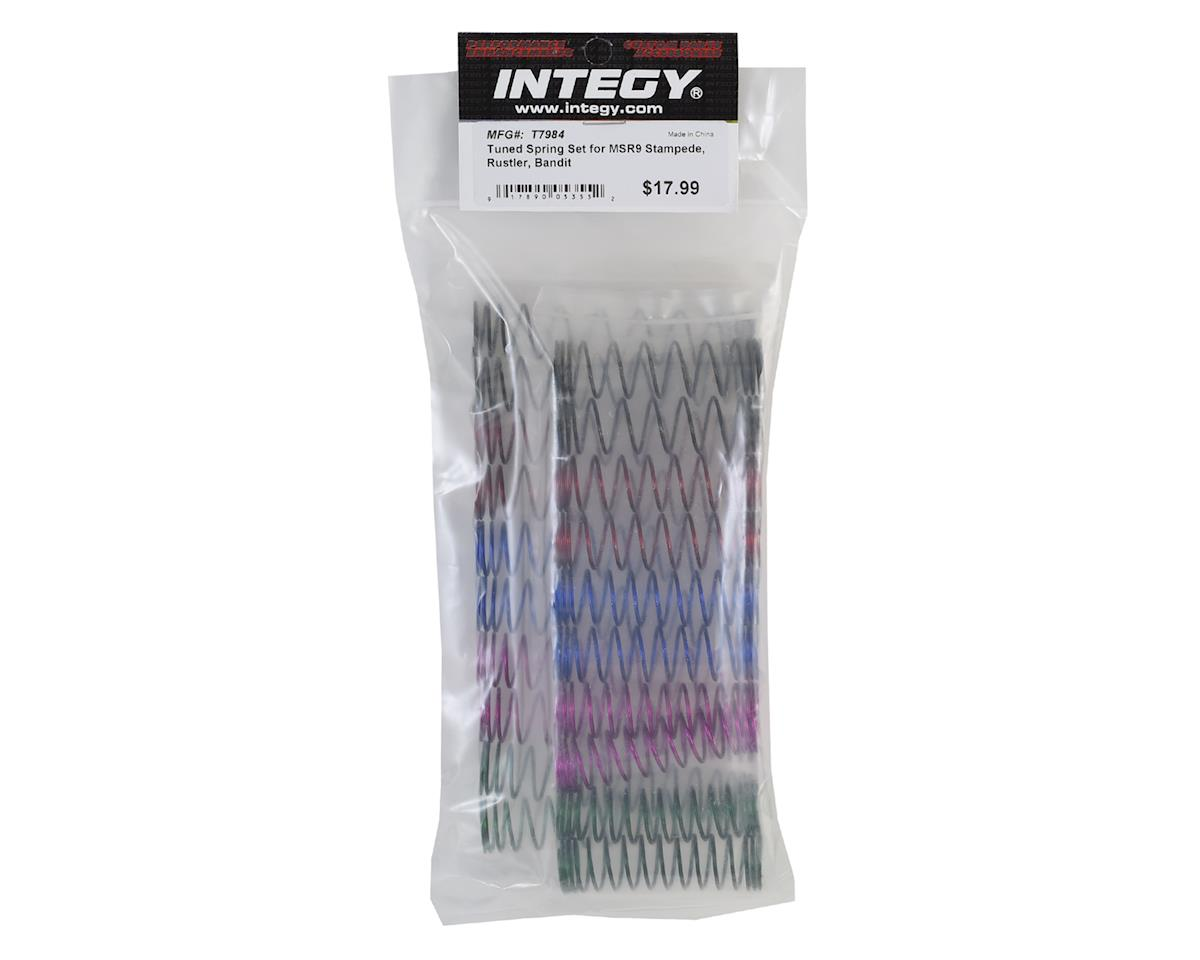 Team Integy Traxxas MSR9 Tuned Spring Set (Stampede, Rustler, Slash, Bandit)