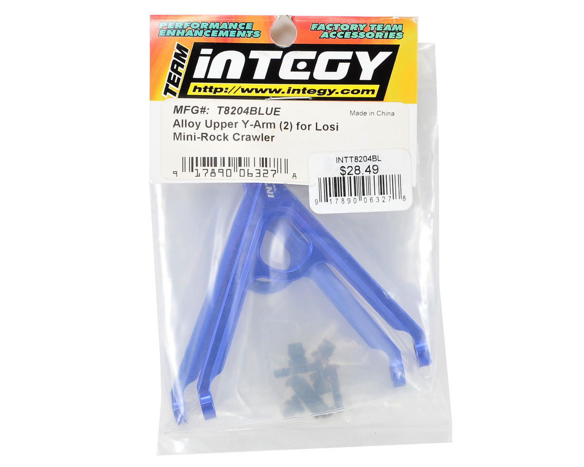 Team Integy Alloy Upper Y-Arm (Blue) (2)