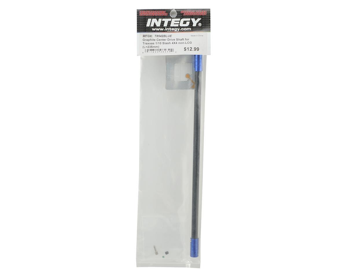 Team Integy Slash 4X4 Graphite Center Driveshaft (Blue)