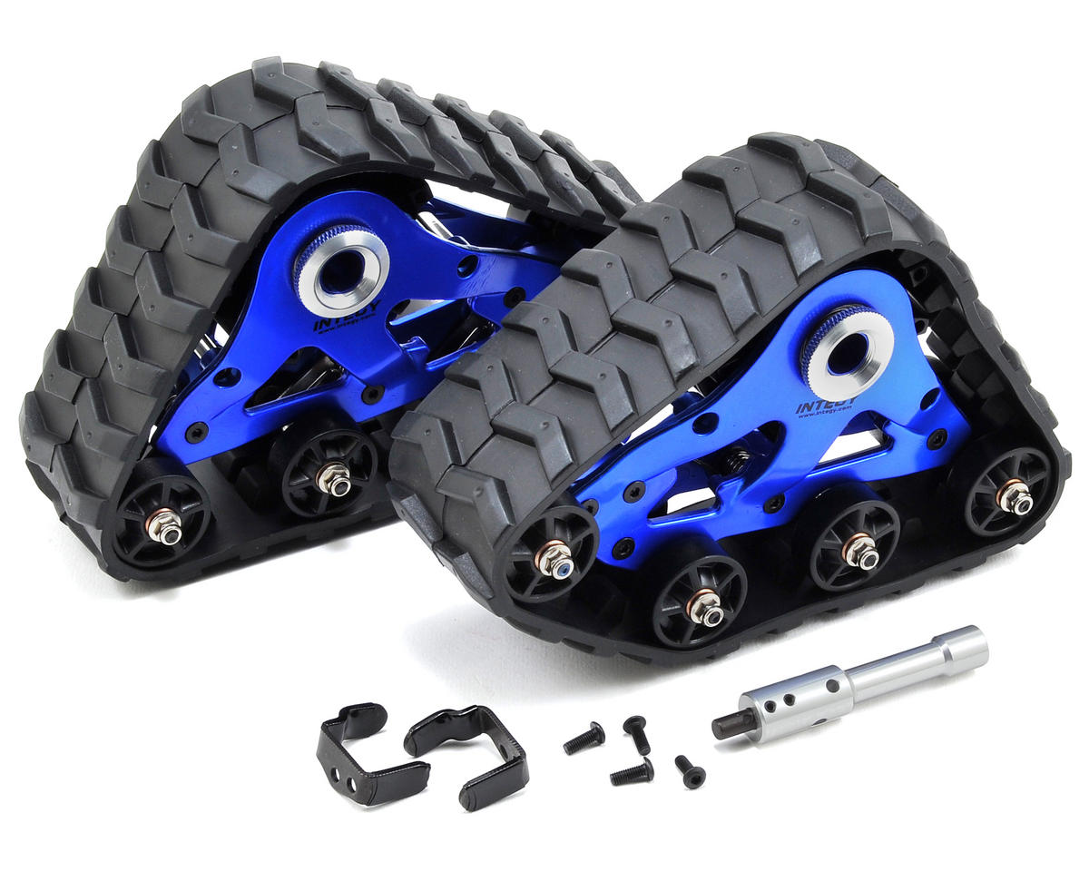 Team Integy Traxxas Stampede 4x4 Front Snowmobile & Sandmobile Conversion Kit (Blue)