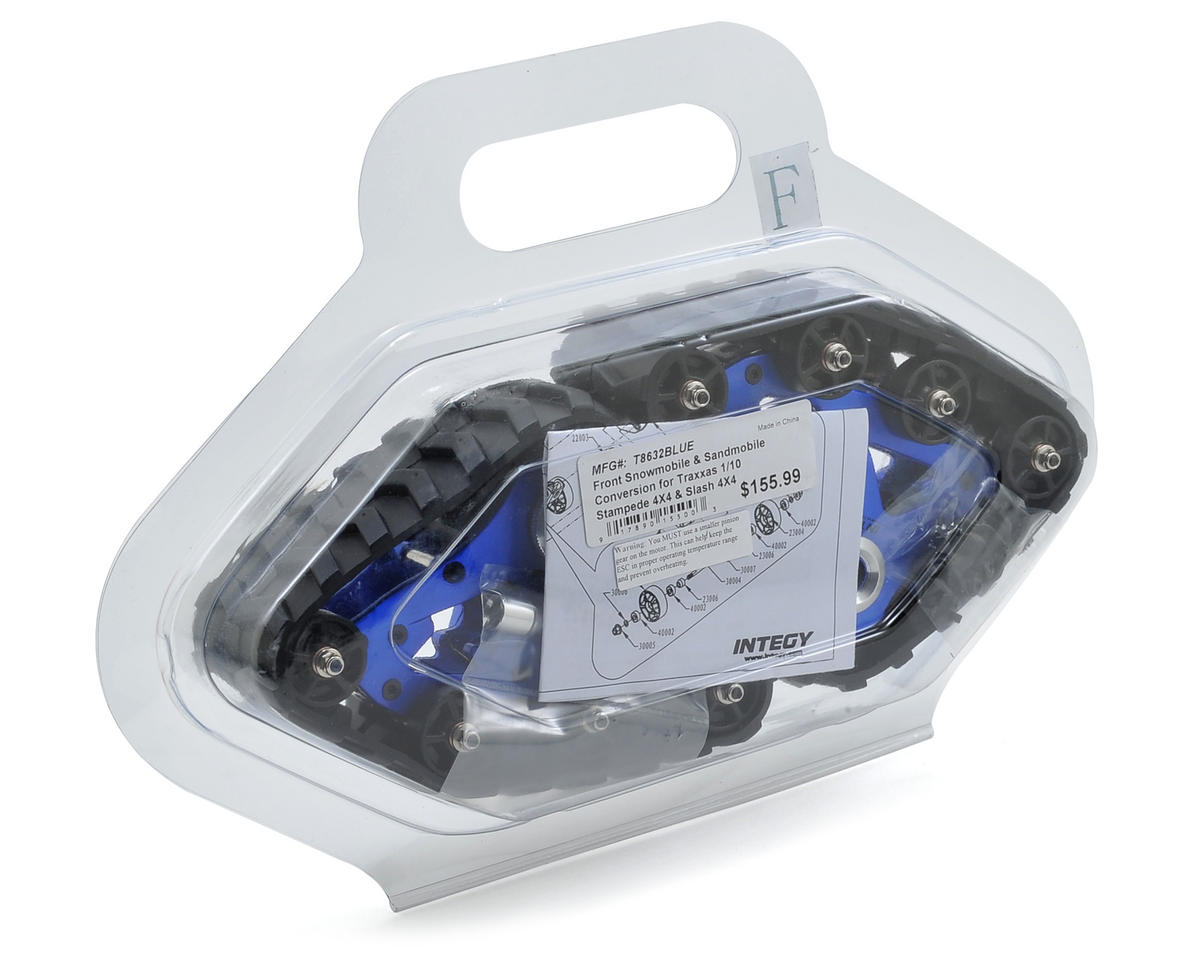 Team Integy Traxxas Front Snowmobile & Sandmobile Conversion Kit (Blue)