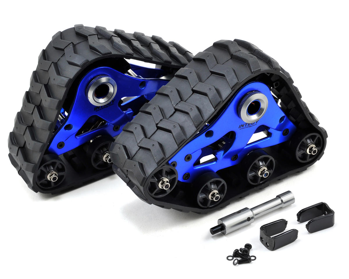 Team Integy Traxxas Stampede 4x4 Rear Snowmobile & Sandmobile Conversion Kit (Blue)