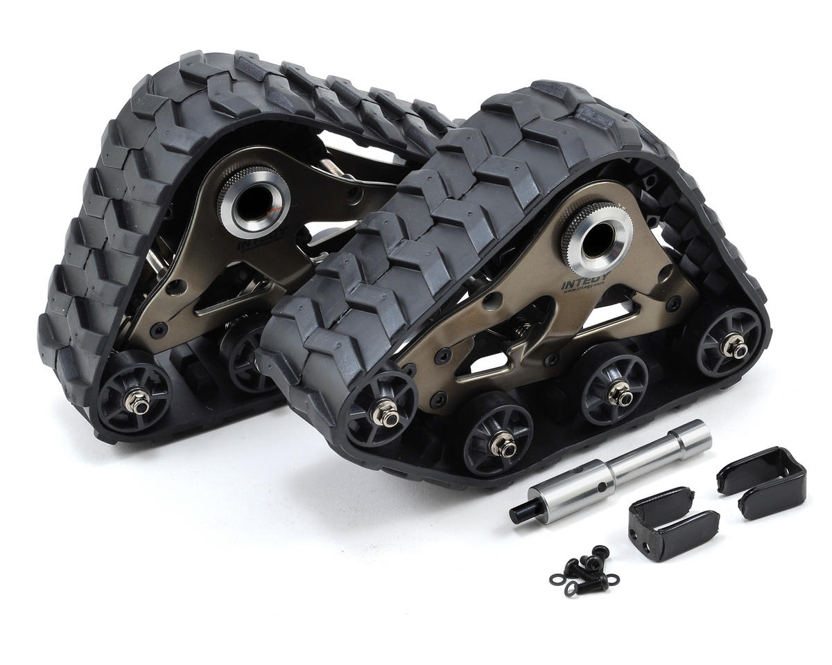 Team Integy Traxxas Rear Snowmobile & Sandmobile Conversion Kit (Gun Metal)