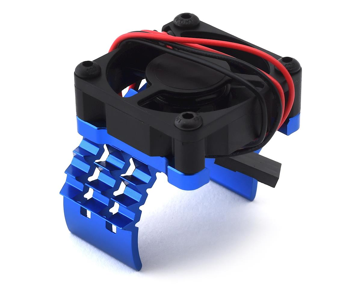 Team Integy T2 Motor Heatsink & Cooling Fan (Blue)