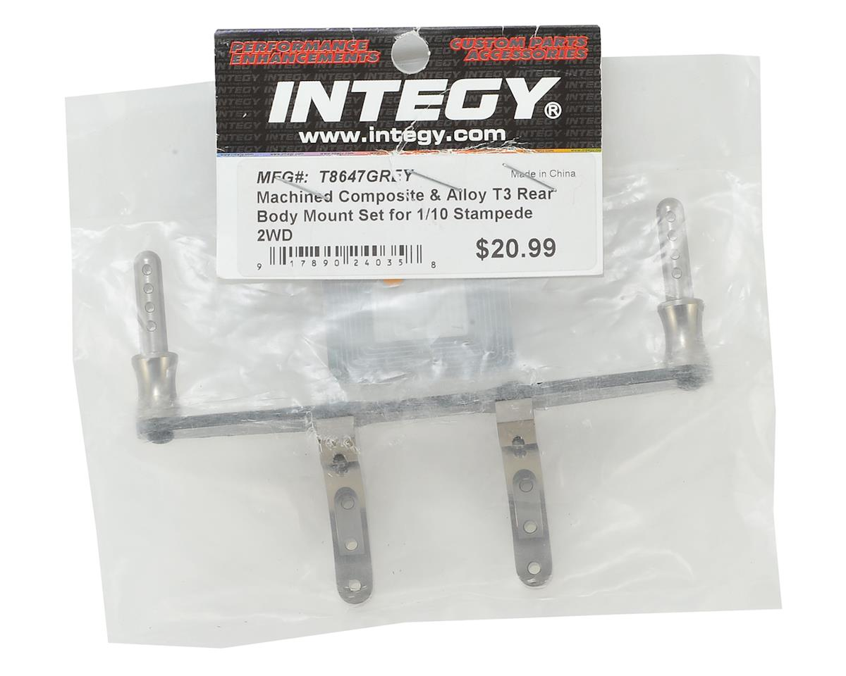 Team Integy Stampede 2WD Machined T3 Rear Body Mount Set