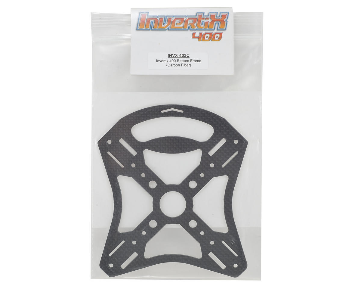 Invertix 400 3D Carbon Fiber Bottom Frame