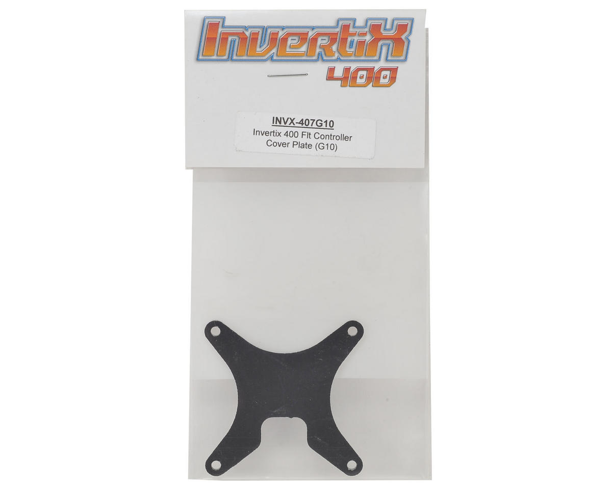 Invertix 400 3D Fiberglass Flight Controller Cover Plate