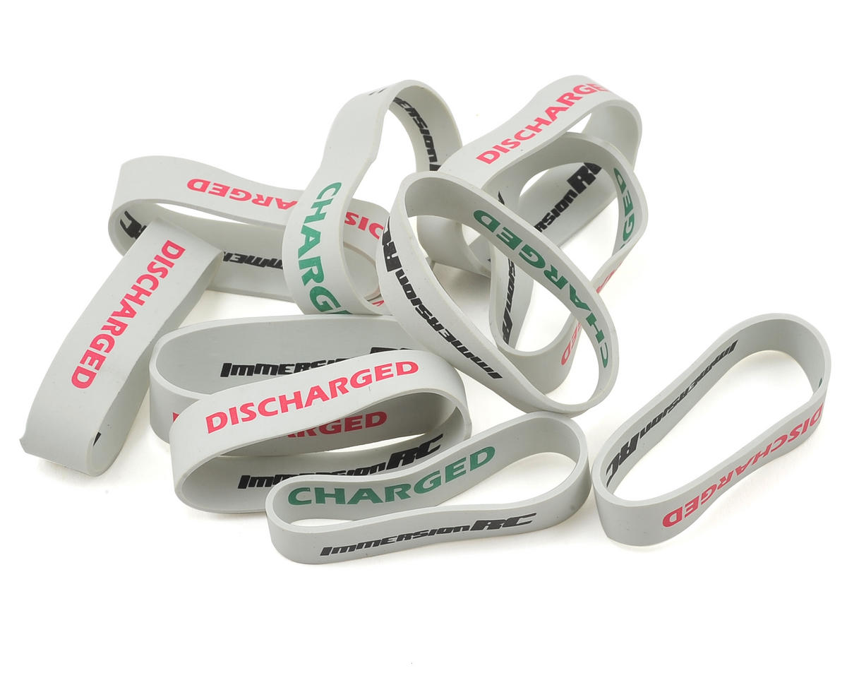 Charge & Discharge Bands (10) by ImmersionRC