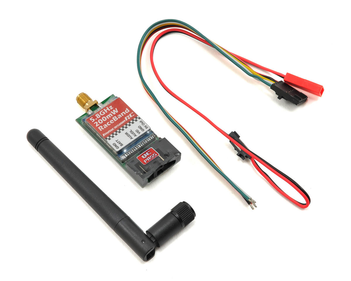 RaceBand 200mW 5.8GHz Audio/Video 15 Channel Transmitter
