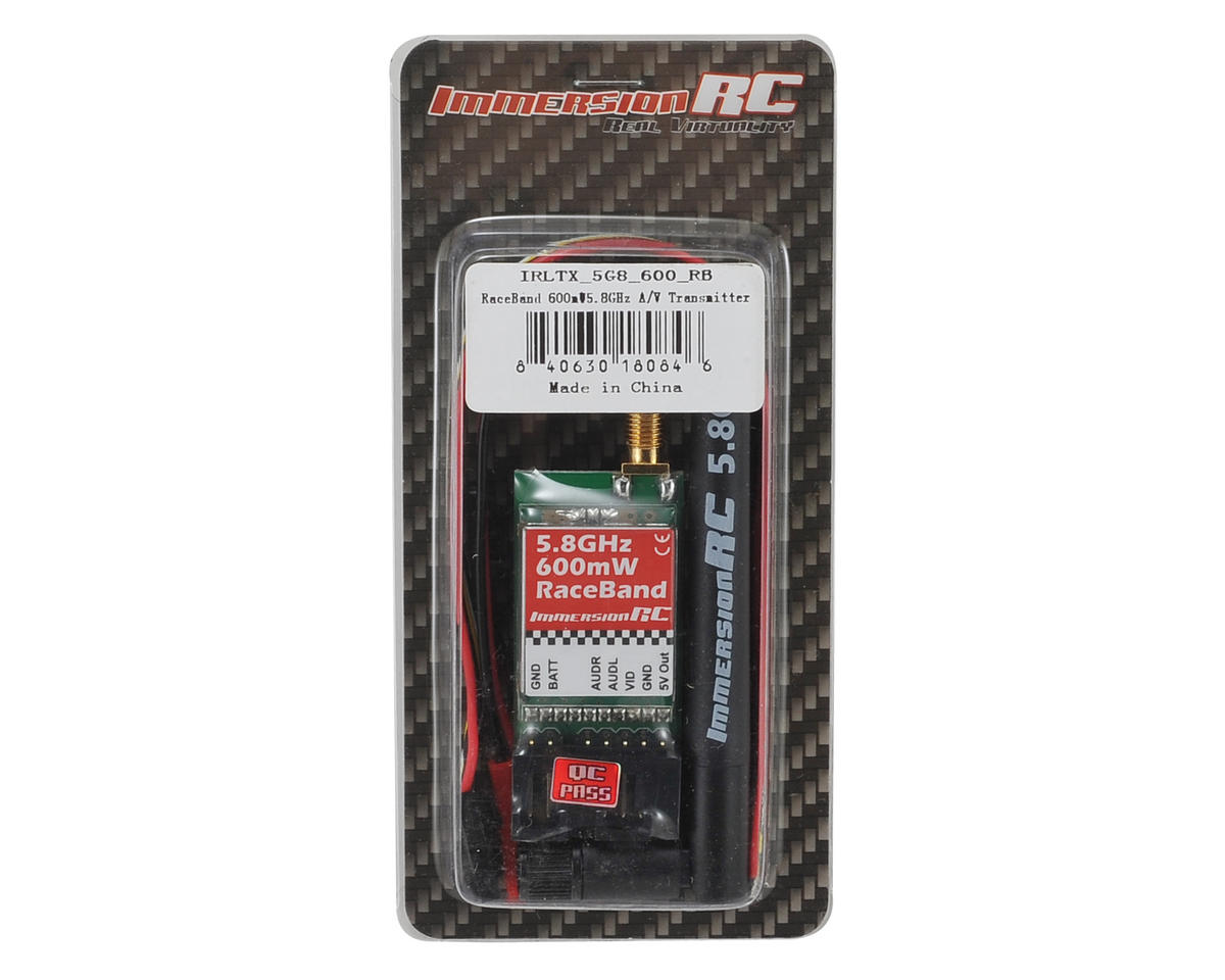 ImmersionRC RaceBand 600mW 5.8GHz Audio/Video 15 Channel Transmitter