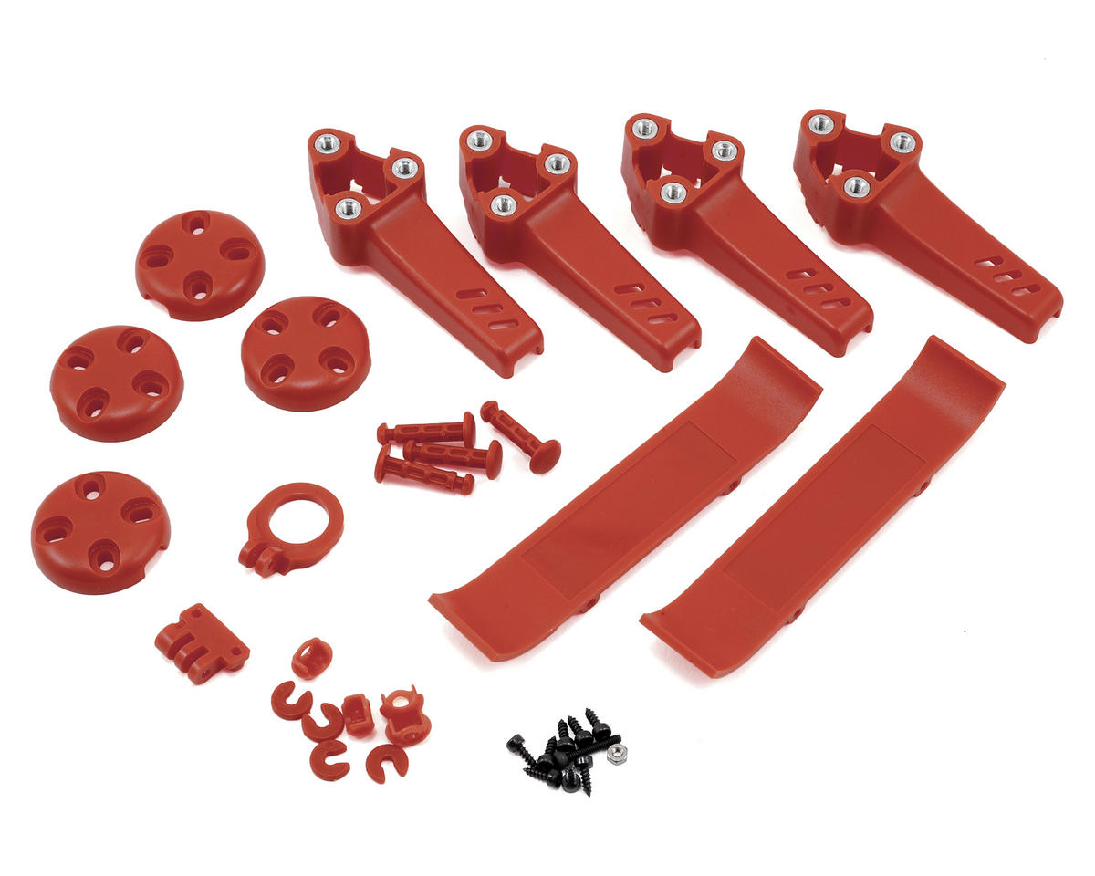 ImmersionRC Vortex 250 PRO Pimp Kit Stock (Red) (BLH9213) (Blade Pro)
