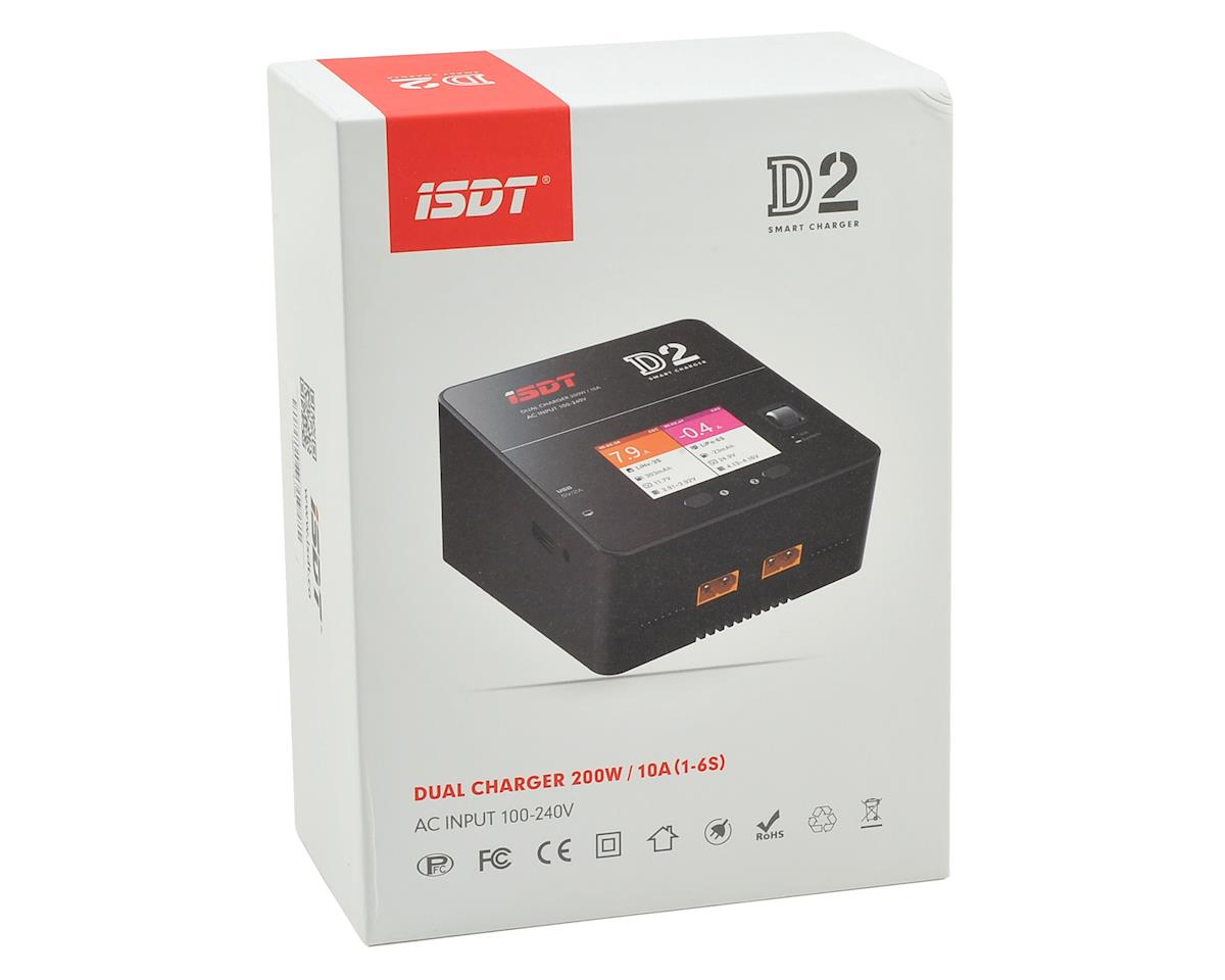 iSDT D2 Smart AC Lithium Battery Charger (6S/10A/200W)