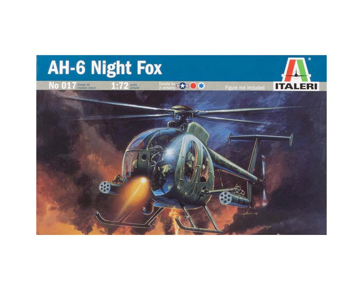 Italeri Models 1/72 AH-6 Night Fox