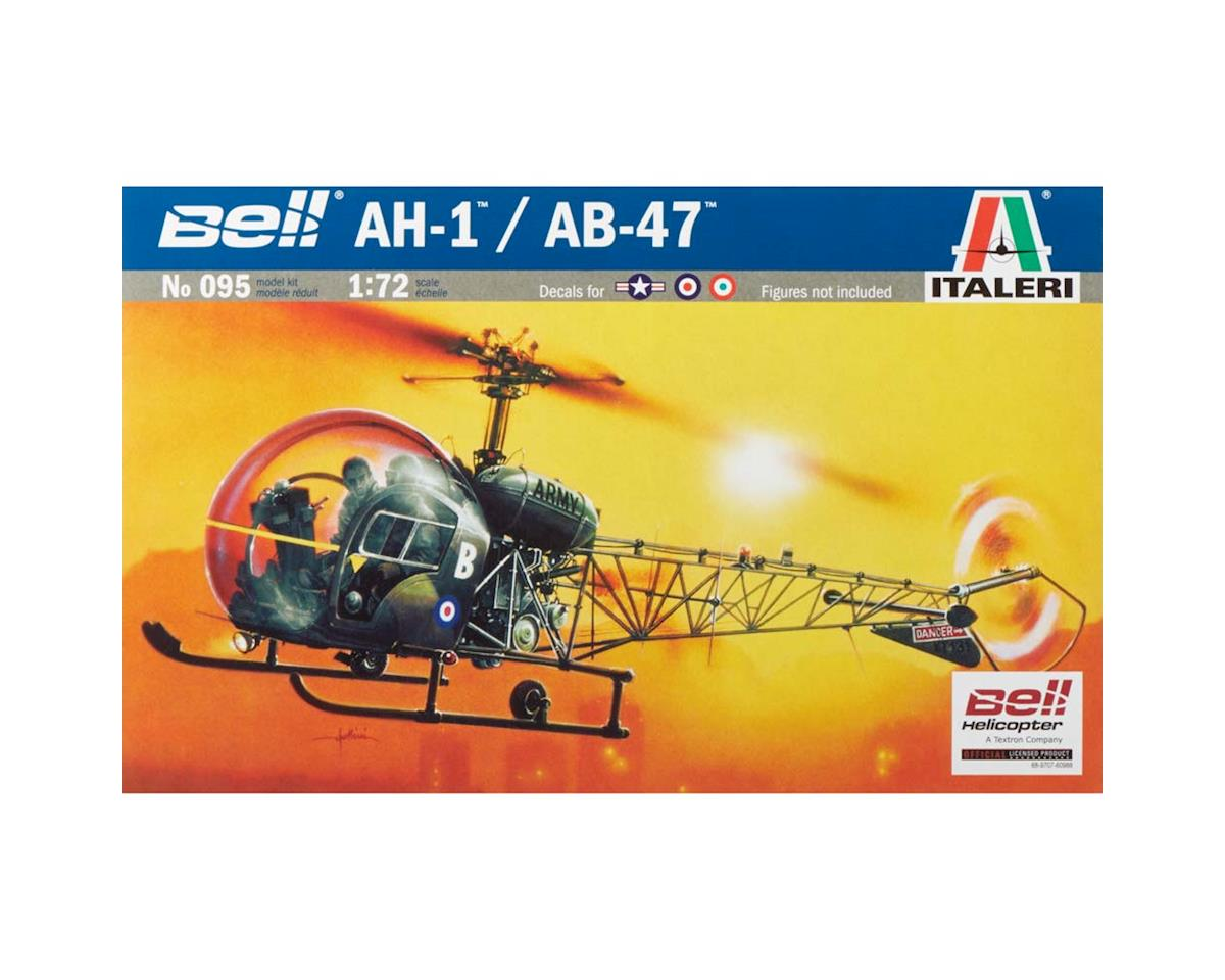 Italeri Models 1/72 AH-1/AB-47 Light Helicopter