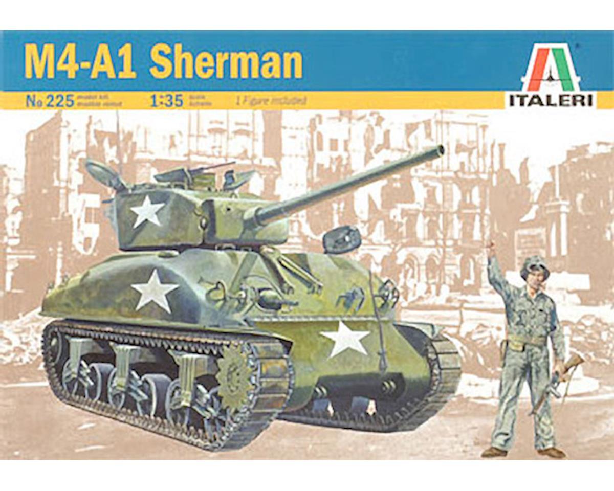 Italeri Models 1/35 Sherman M4-A1 [ITA0225S] | Toys & Hobbies