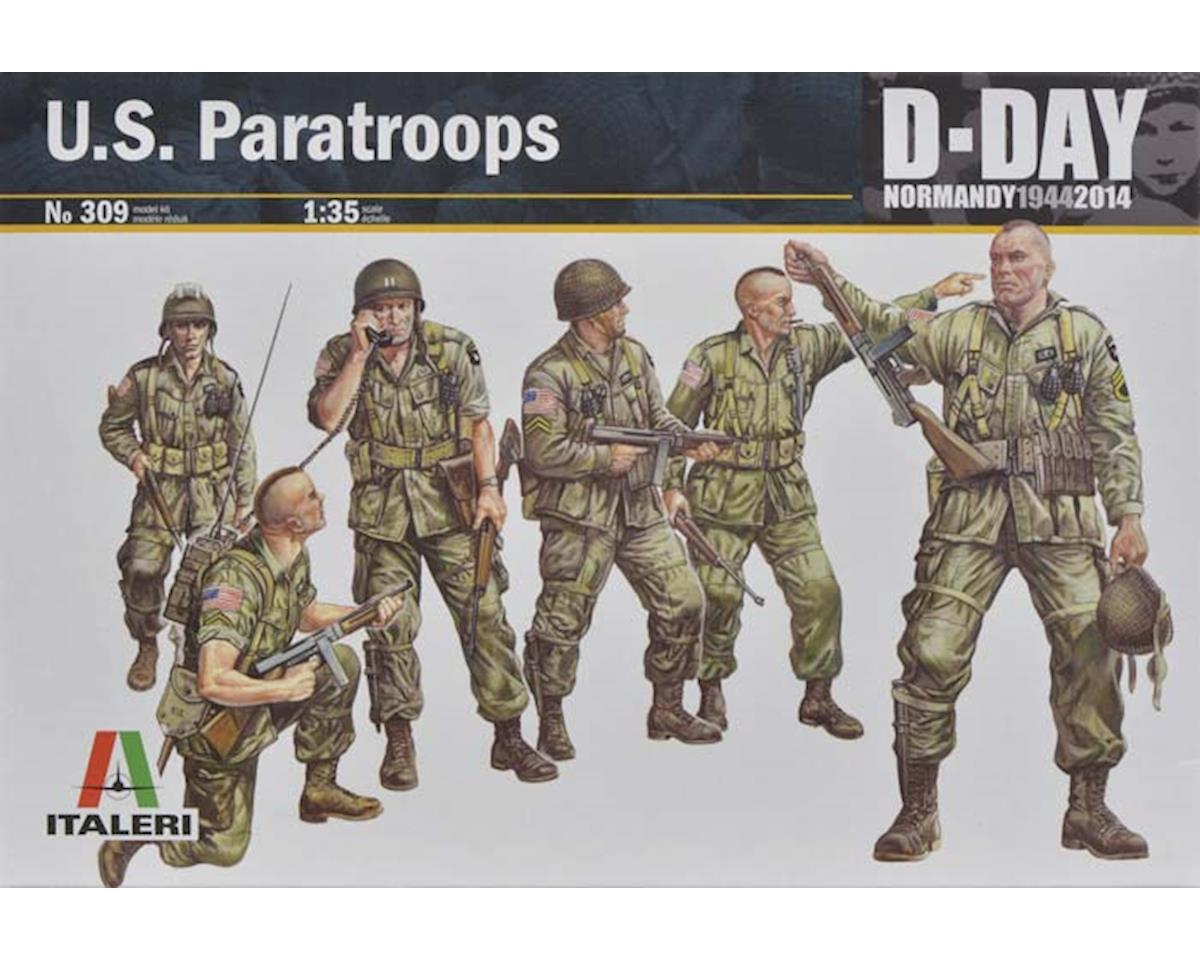 Italeri Models 1/35 US Paratroops WWII Normandy