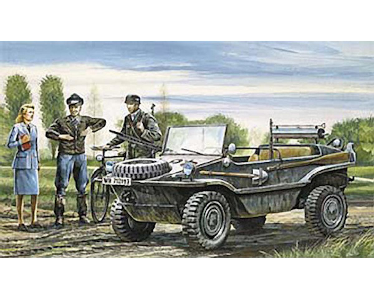 Italeri Models 1/35 Schwimmwagen Amphibious Light Vehicle WWII