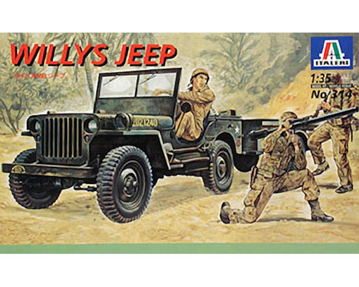 Italeri Models 1/35 Jeep