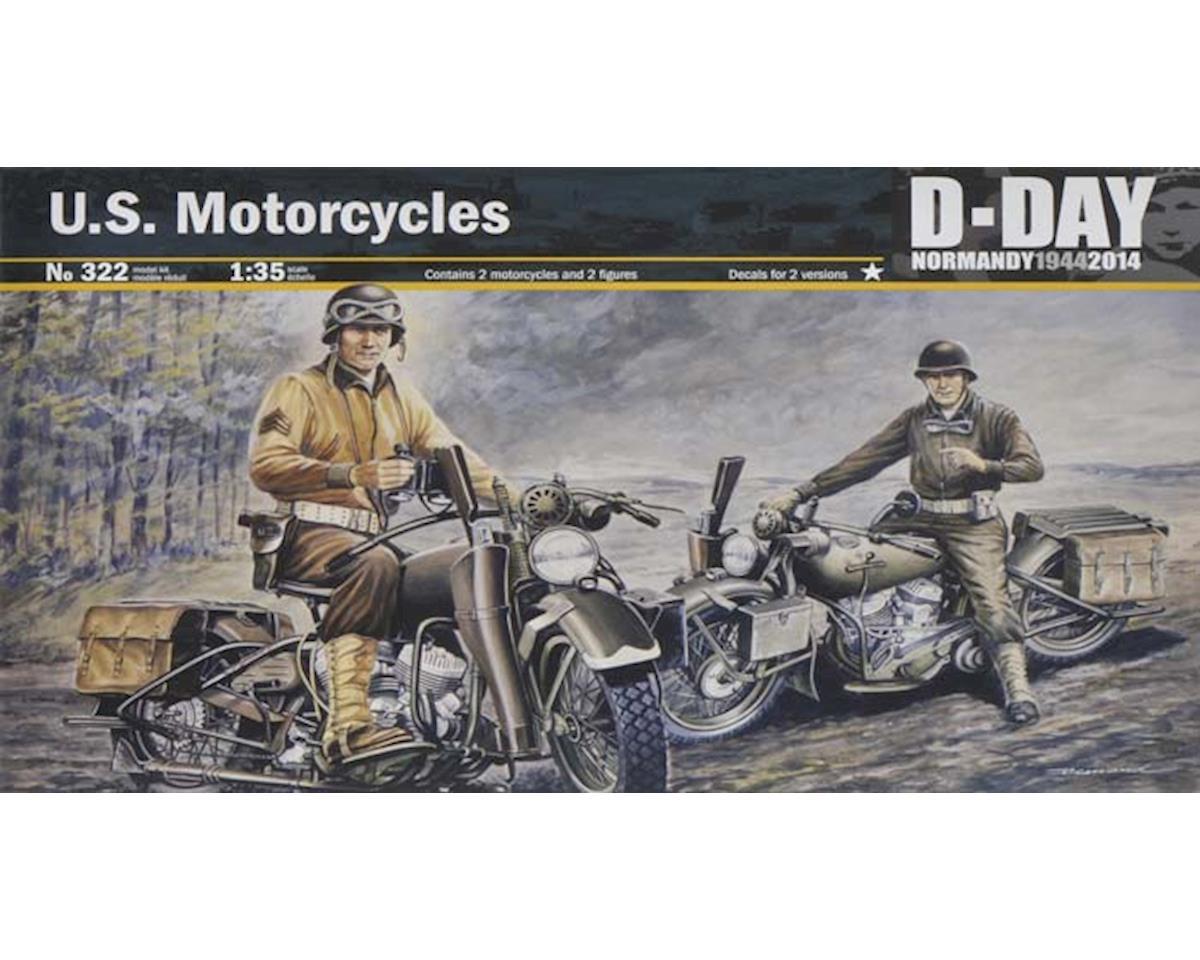 Italeri Models 1/35 US Motorcycles WWII Normandy