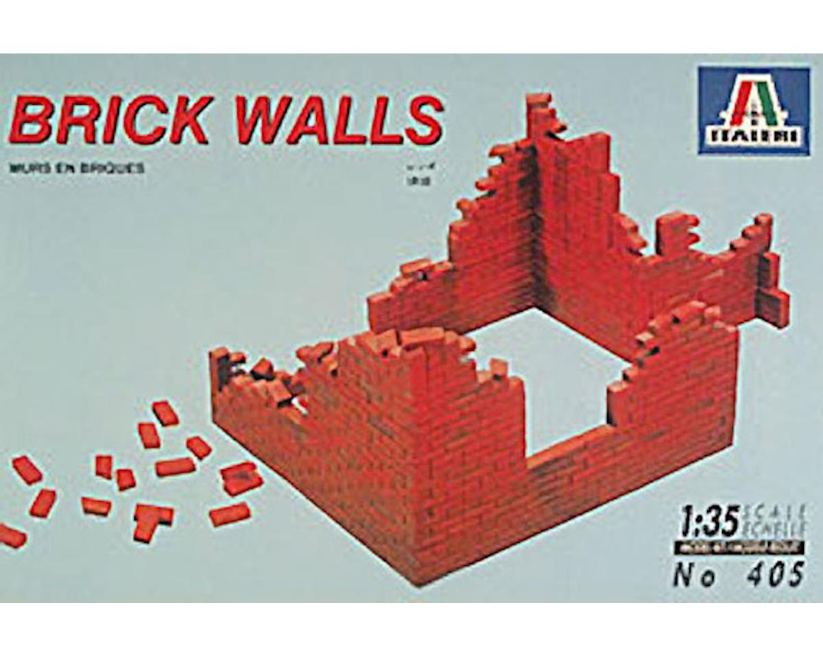 Italeri Models 1/35 Shelled Brick Walls