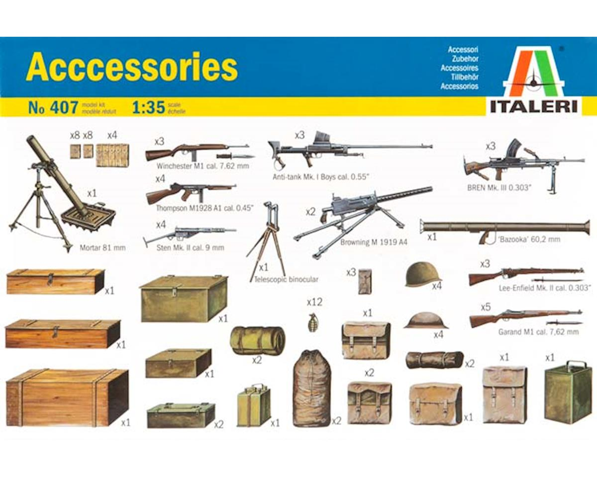 Italeri Models 1/35 WWII Diorama Accessories