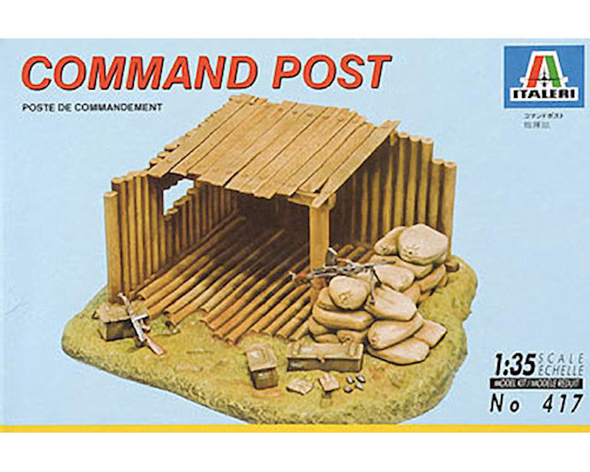 Italeri Models 1/35 Command Post