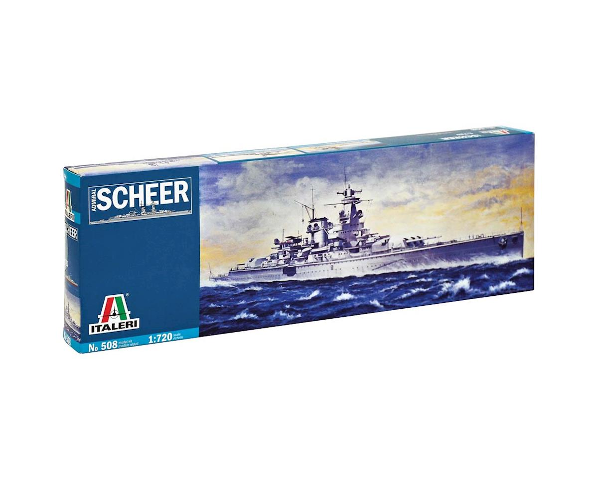 1/720 Admiral Scheer Heavy Cruiser by Italeri Models