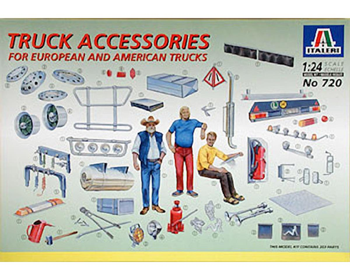 1/24 New Truck Accessories by Italeri Models