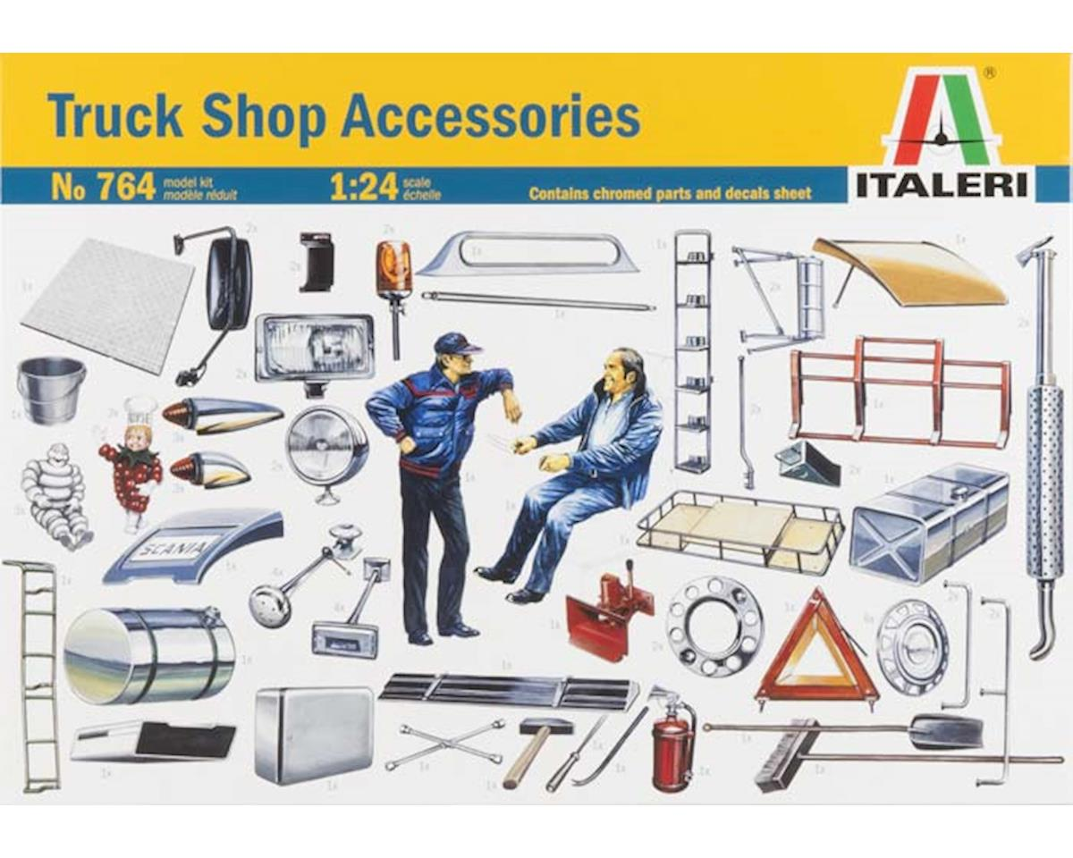 Italeri Models 1/24 Truck Shop Accessories