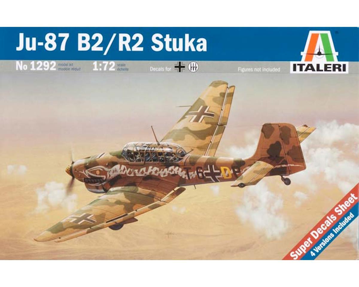 1/72 JU-87 B2/R2 Stuka by Italeri Models