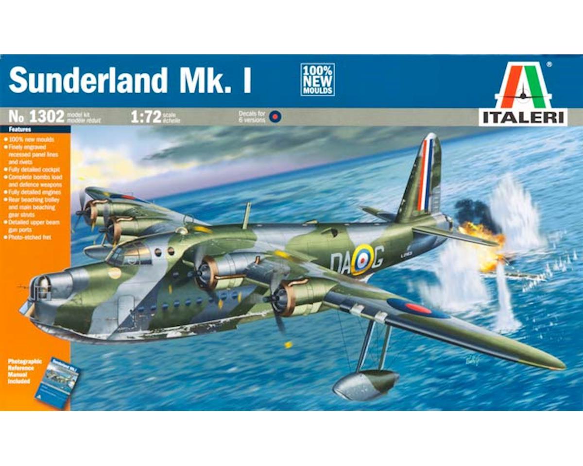 Italeri Models 1/72 Sunderland Mk.I