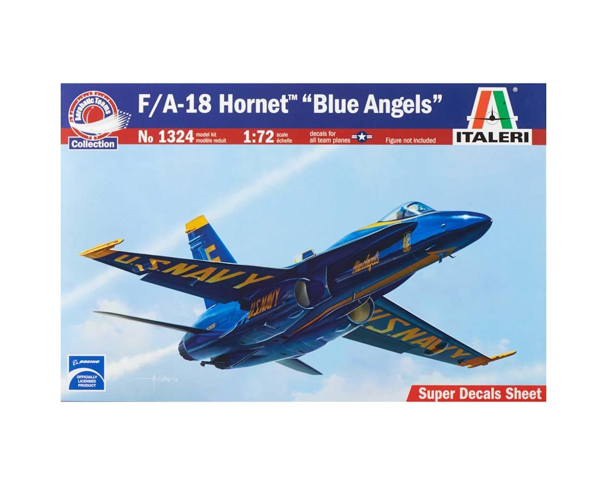 Italeri Models 1/72 F/A-18 Hornet Blue Angels